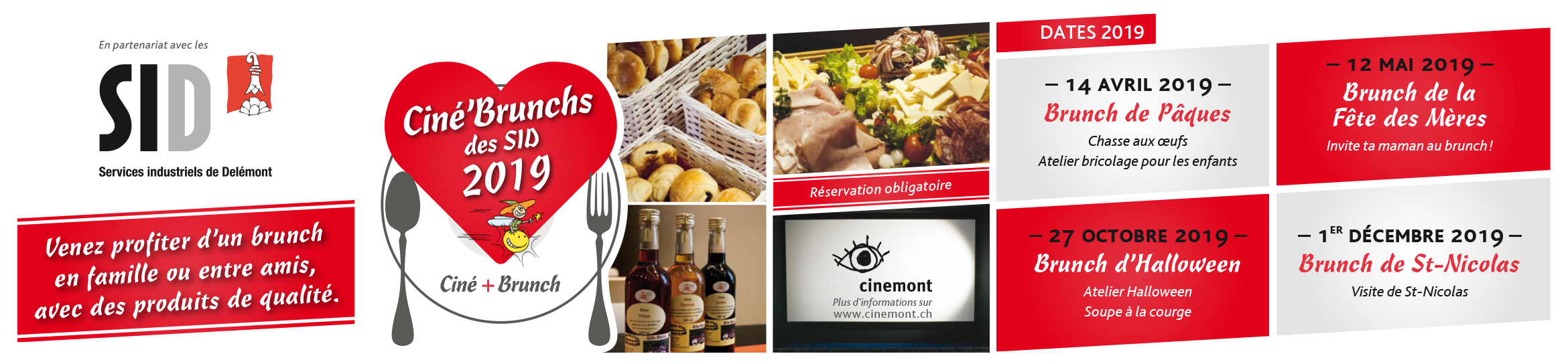 Cinemont Ciné Brunch BandeauWEB