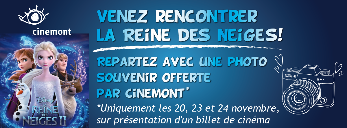 Photobooth Reine des neiges Bandeau Facebook